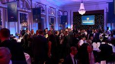 The inaugural ROCAs ceremony was held in the glittering ballroom of Gleneagles Hotel.