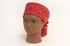 6a6b327f21b Items similar to Seeing Stars Boy Cap Ponytail Scrub Hat on Etsy