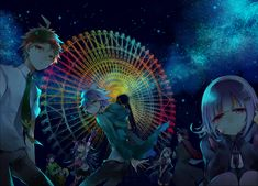 Kudan (Artist), Super Dangan Ronpa 2, Tanaka Gundam, Komaeda Nagito, Saionji Hiyoko, Mioda Ibuki