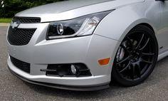 Chevy Cruze Spyder headlights, Brembo GT brakes, Work 19 in wheels