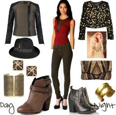 """""""Day to night DA FG"""" by skugge on Polyvore"""