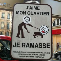 Sign, Paris