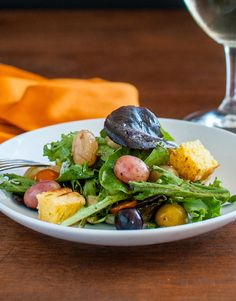 Altitude Salad. Use fresh Chilean fruit in your recipes! #fruitsfromchile