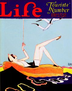 Life Magazine August, 1927 Life by Russell Patterson