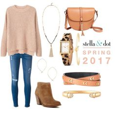 Love this look using these gorgeous pieces from the spring 17 line!!   www.stelladot.com/MelissaJGross