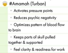 Benefits of Amamah (Turban) Islamic Websites, Pressure Points, Turban, Feelings, Turbans, Acupressure Points