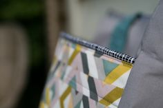 Sew hazy bag. Close up. #noodlehead super tote. #cloud9fabrics.