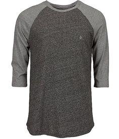 Volcom Marled Raglan T-Shirt