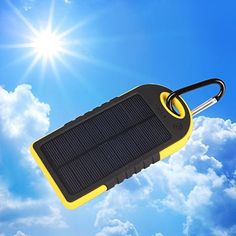 Cheap Bositools Solar Charger 5000mAh Rain-resistant and Dirt/Shockproof Dual USB Port Portable Charger Backup Battery Portable Power Pack Solar Power Bank Phone Chargers Solar Powered Charger Usb External Battery Charger Portable Solar Charger External Battery Power Bank Charger for iPhone 6 Plus 5S 5C 5 4S 4 iPad Air Mini iPods(Apple Adapters not Included) Samsung Galaxy S5 S4 S3Note 4 3 2 Nexus HTC Android PhonesWindows phone Bluetooth Speakers MP3 Tablets and Other Devices(Yellow) Best…
