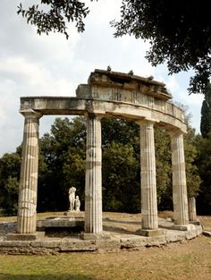 Venus Temple at Hadrian's Villa in Tivoli.