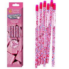 Bubble Yum Scented Pencils