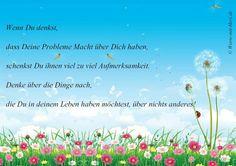 Foto: Nur DU hast Macht über Dich und Dein Leben... Glück gemacht von worte-mit-herz.de