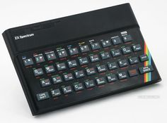 Lord Clive Sinclair created this little gem of computing. The ZX Spectrum Digital History, Home Computer, Computer Science, 8 Bits, My Childhood Memories, 1980s Childhood, Old Tv, Spectrum, Museum