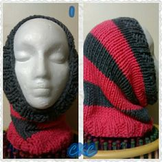 Snood perfect for winter warmth Knitted Hats, Beanie, Knitting, Winter, Fashion, Winter Time, Moda, Tricot, Fashion Styles