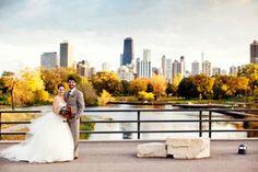 Autumnal Chicago Wedding