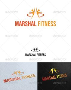 Marshal Fitness Logo Template