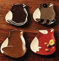 Foxy Fall Creature Appetizer Plate