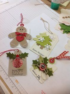 More Christmas tags