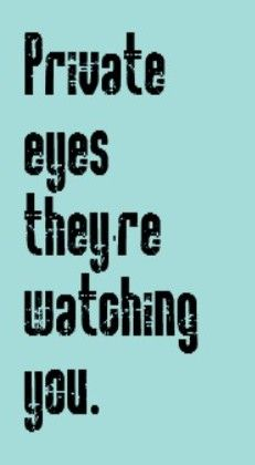 Hall & Oats - Private Eyes - song lyrics, songs, music lyrics, song quotes, music quotes