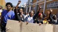 Why are South African students protesting? South African universities have been affected by the biggest student protests to hit the country since apartheid ended in Education For All, Free Education, Higher Education, Democratic Alliance, Democratic Election, End Of Apartheid, British Broadcasting Corporation, Bbc World Service