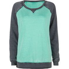 FULL TILT Essential Womens Burnout Sweatshirt from Tilly's. Shop more products from Tilly's on Wanelo. Style Wish, My Style, Funky Style, Kids Outfits, Cute Outfits, Funky Fashion, Crew Neck Shirt, Hoodies, Sweatshirts
