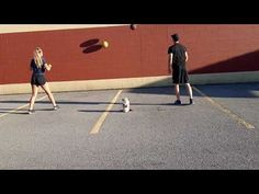 Ball Toss to Wall: #phed #physicaleducation #physical education #homeschool #throw Tossed, Physical Education, Physics, Homeschool, Basketball Court, Kicks, Challenges, Activities, Wall