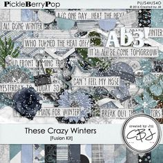 These Crazy Winters - Fusion Kit By Created By Jill