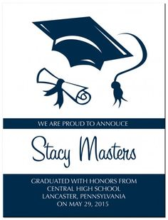 27 Best Ideas For Graduation Invites Images On Pinterest