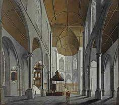 Circle of Anthonie de Lorme (Doornik 1610-1673 Rotterdam) - A gothic church interior