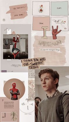 aesthetic wallpaper peter parker tom holland peterparker aesthetic wallpaper pet … – Living Wallpapers For Your Devices Tom Holland Peter Parker, Aesthetic Pastel Wallpaper, Aesthetic Wallpapers, May Parker, Tom Holand, Picture Letters, Avengers Wallpaper, Aesthetic Collage, Aesthetic Girl