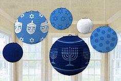 So hard to fid cute Hanukkah Decorations