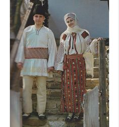 Ramnicu Sarat, Muntenia (Wallachia) Folk Costume, Costumes, Folklore, Romania, Ruffle Blouse, Textiles, The Incredibles, Traditional, People