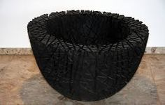 sculpture en bois brulé - yakisugi *