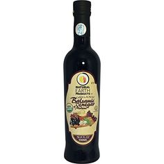 Balsamic Vinegar of Modena - 500 ml - 100% USDA Certified Organic and PGI - Product of Italy - Best Vinegar for Cooking And Dressings - Certified Kosher - From Natural Earth Products *** Insider's special offer that you can't miss : Baking supplies