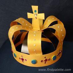 Gold Medieval Crown craft