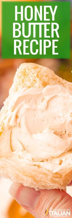 Creamy honey butter is whipped to perfection in minutes. Slather it on everything from rolls and pancakes to sweet potatoes and squash!