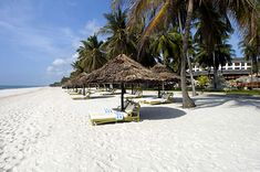 Diani Reef Beach Resort on the South Kenya coastline - pristine beaches overlooking the Indian Ocean