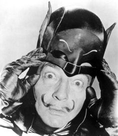 Salvador Dali as Batman