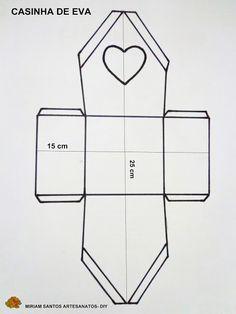 Casinha de Eva - Diy DE MIRIAM SANTOS   https://youtu.be/ZHTSK8-O_8o      Para fazer esta casinha vai precisar dos seguintes materiais:  ...