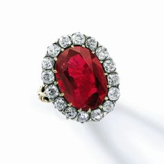 Royal ruby left unsold at Sotheby's Geneva