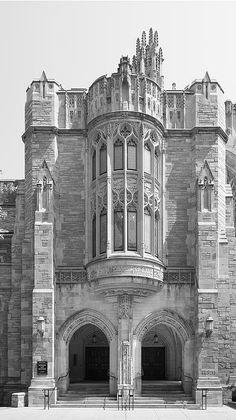 Spectacular building; spectacular photo!!  Yale University Sterling Law Building  #Yale #WallArt #gift #YaleLaw