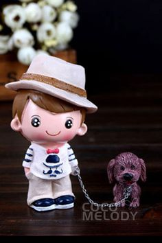 Resin Children and Dogs A Set of Two Complete Sets of Sale Wedding Decoration BS16022 #weddingessentails #weddingdecorations #cocomelody