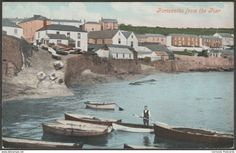 Portscatho From The Pier, Cornwall, c.1905-10 - Postcard