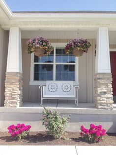 Porch Pots - Lovely hanging pots for your yard. Landscaping made simple for easy keeping.