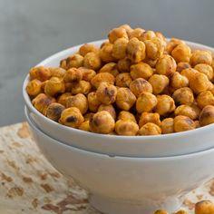 High-Protein Snacks: Spicy Roasted Chickpeas - Fitnessmagazine.com
