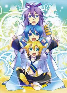 Gakupo,Kaito and Len!