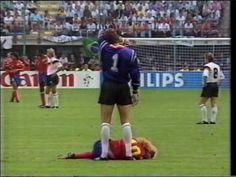 WM 1990: Deutschland-Kolumbien 1:1