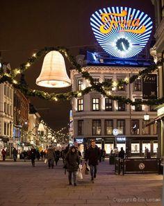 Oslo - sentrum shopping district