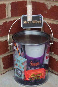 Halloween Teacher Gifts.