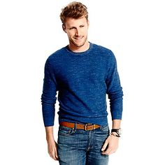 Image for TEXTURED CREWNECK SWEATER from Tommy Hilfiger USA